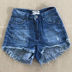 High waist Bonita one Teaspoon denim shorts